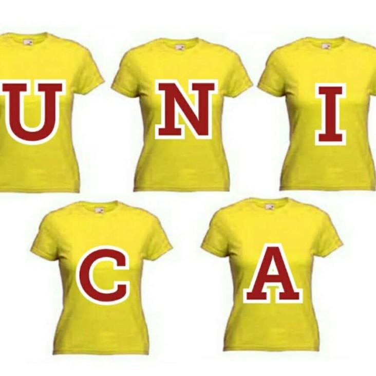 5 tshirt unica