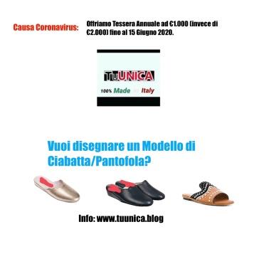 Stilista Pantofola Offerta Cornavirus