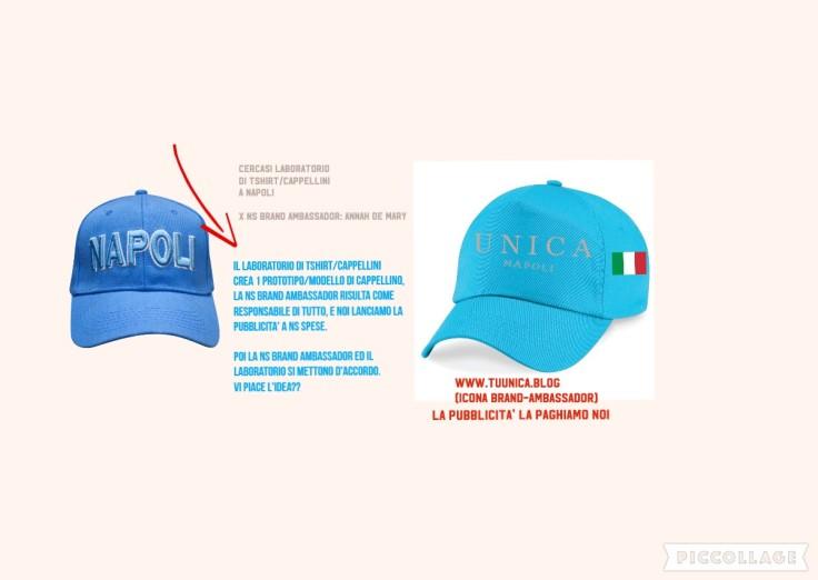 cappellino Napoli Annah de mary
